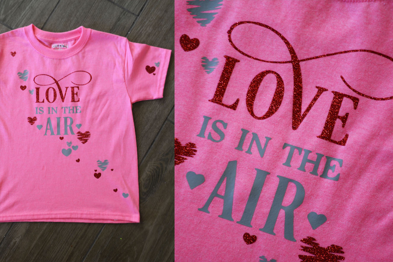 Make Your Own Valentine's Day T Shirt - My Vinyl Direct